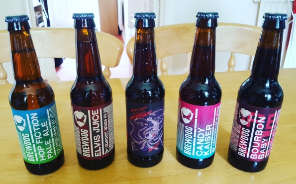A few BrewDog beers to enjoy beforehand..