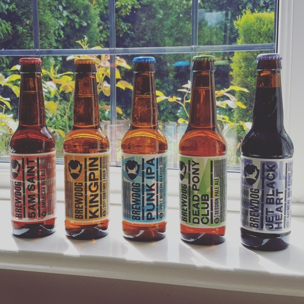 The BrewDog Headliners range